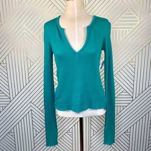 Urban Outfitters Out from Under Green Knit Sweater